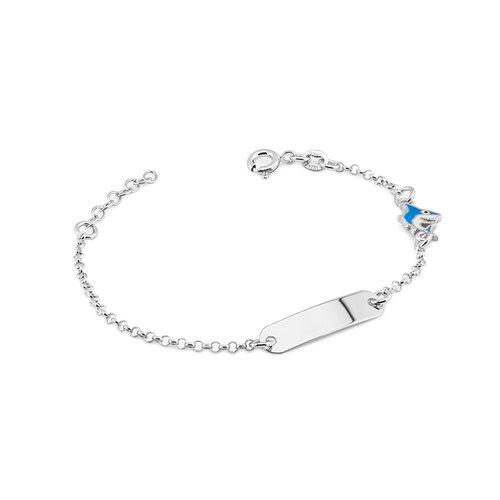 srebrna bransoletka dla dziecka